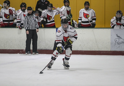 CUA Hockey vs York College; 9 Nov 19