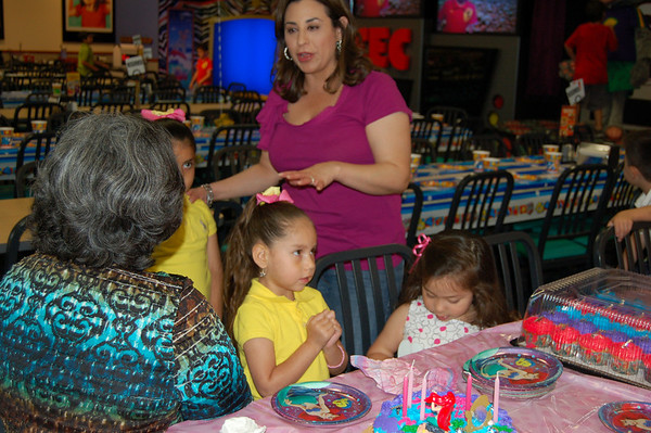 Evie's 4th Birthday Party