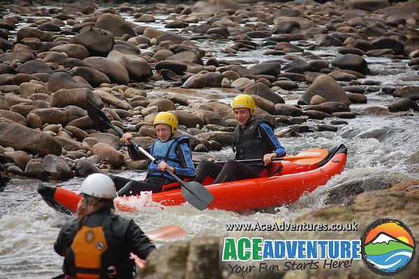 16th of July 2013 White Water Canoe Kayaking