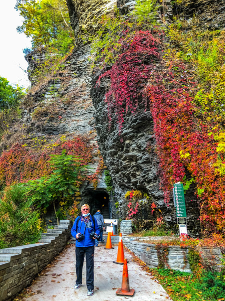 Watkins Glen State Park Gorge Trail, New York State - October, 2020
