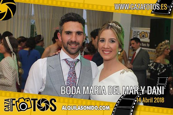 BODA MARIA DEL MAR Y  DANI - 14 ABRIL 2018