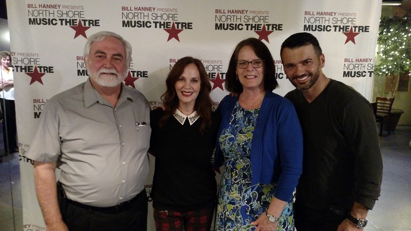 Backstage with Lesley Ann Warren and Tony Dovolani