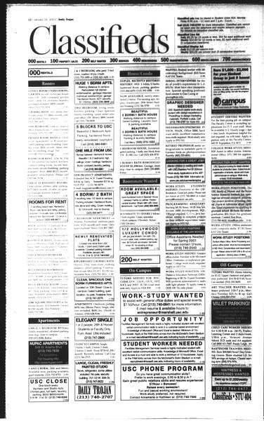 Daily Trojan, Vol. 148, No. 3, January 16, 2003