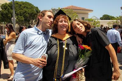 Dr. Linda Goldman's Commencement