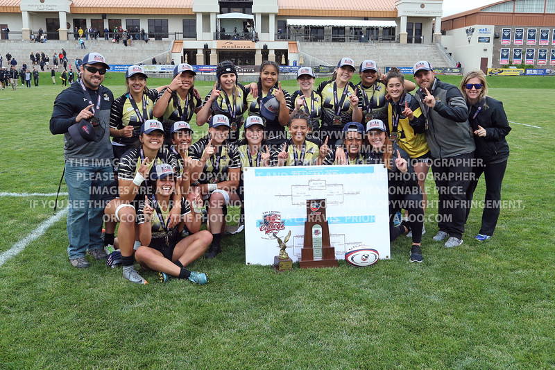 Lindenwood University Rugby Women 2018 USA Rugby Collegiate 7's National Championships May 18-20
