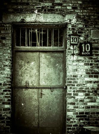 Auschwitz in Monochrome