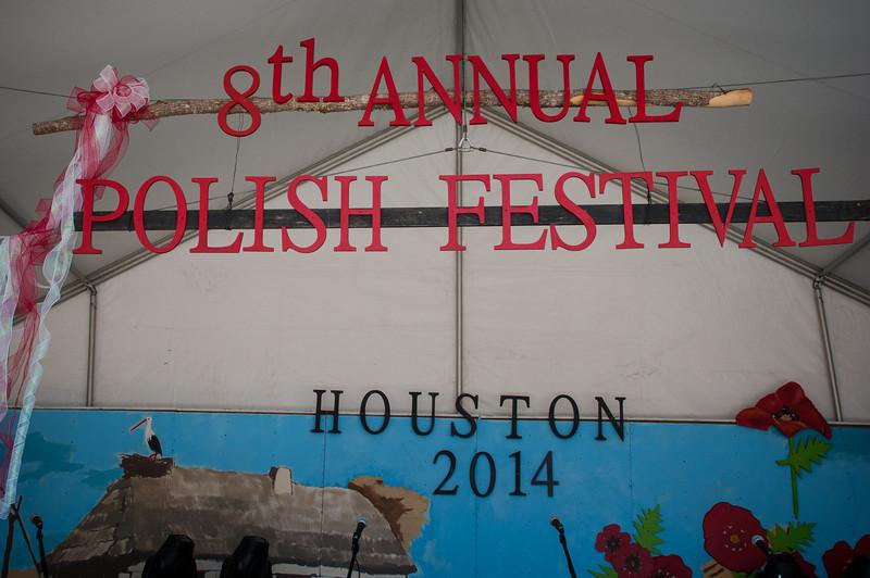 2014 Houston Polish Festival - Saturday