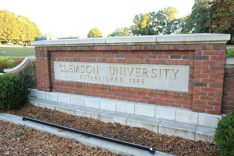 Homecoming weekend at Clemson University - October 17, 2015