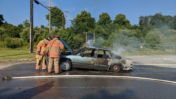 Vehicle Fire - First Ave - South Coatesville