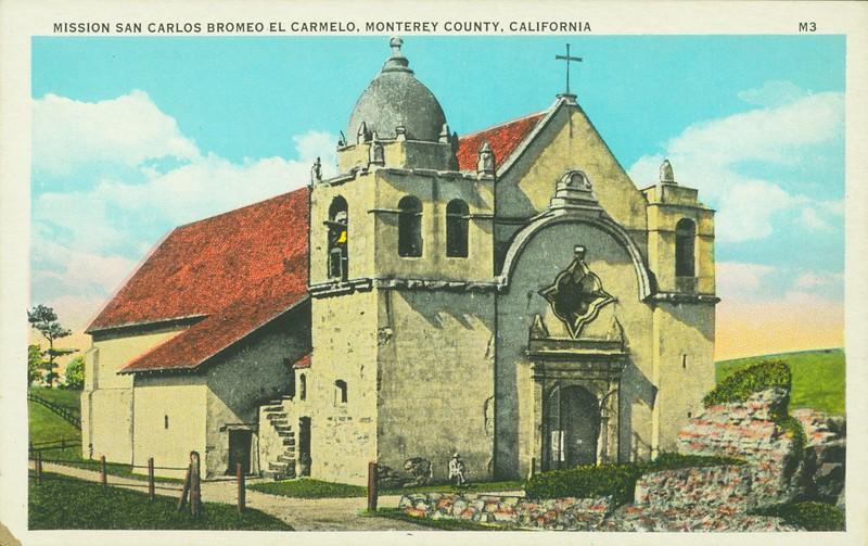 Mission San Carlos Bromeo El Carmelo