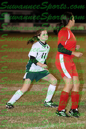 Suwannee Middle School Soccer 2011-12
