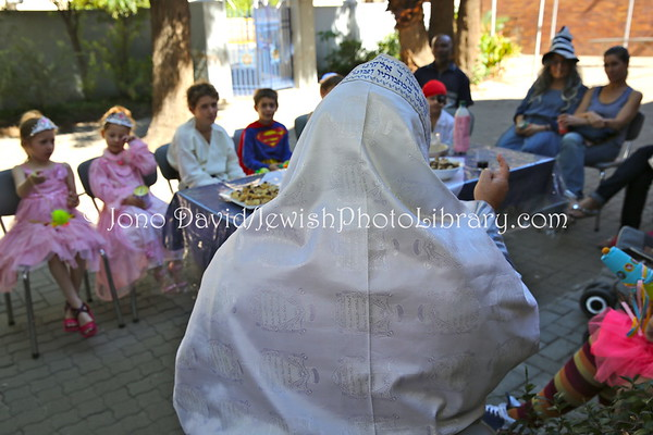 NAMIBIA, Windhoek. Purim, children's party (February 24, 2013)