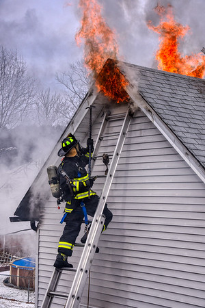 2 Alarm House Fire - 80 North St, Norwich, CT - 1/31/21