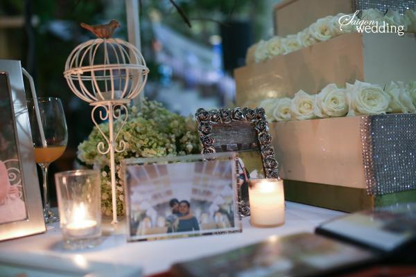 Tiệc cưới lãng mạn tại khu vườn ngoài trời trong xanh 546