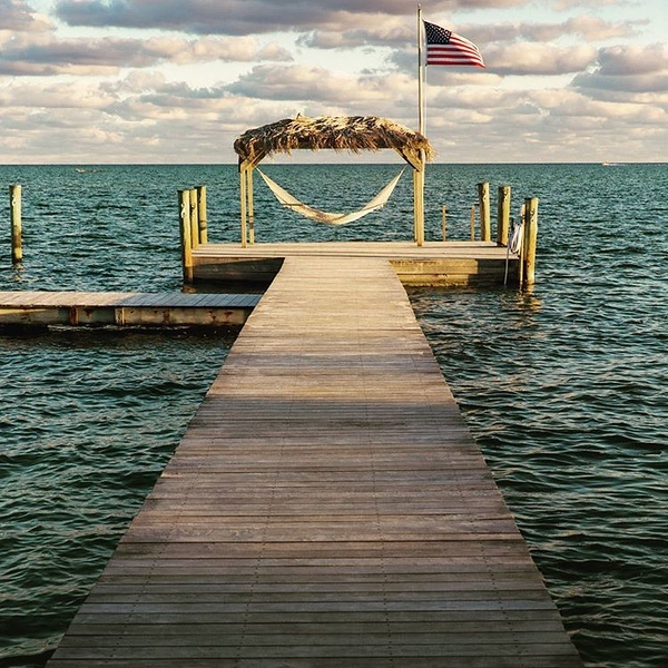 Who wants to be hanging out here right now? #hammock #nosnow #dock #saltlife #photography  #beach #latergram #florida