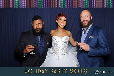 @properties Holiday Party 2019 - booth 1