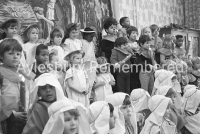 Southcourt Infant School nativity, Dec 1973