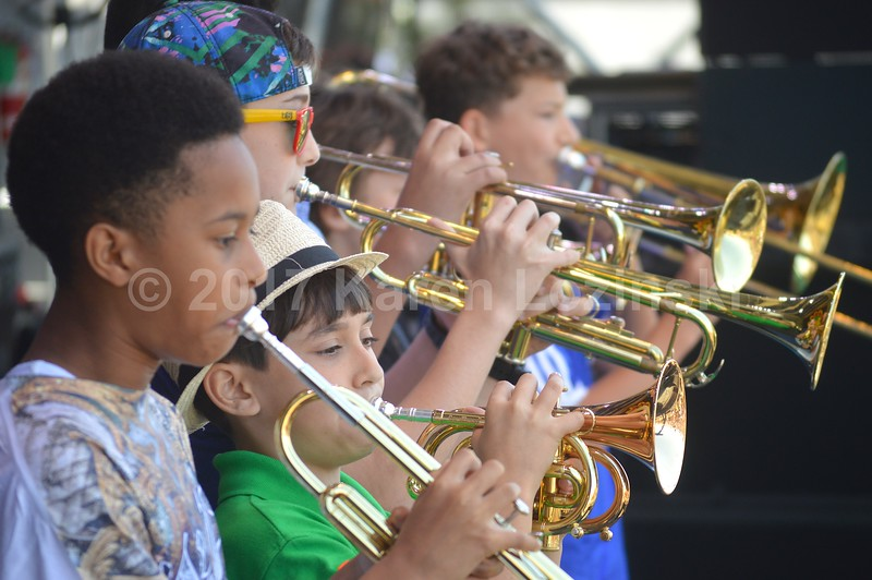 Shamarr's Kids at Jazz Fest 2