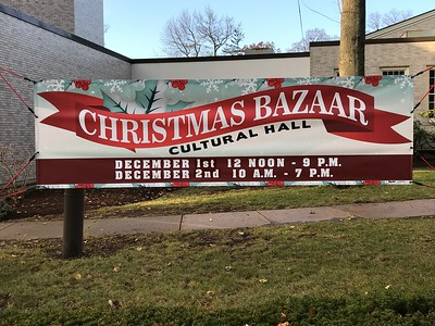 58th Annual Trinity Christmas Bazaar, Dec. 1 and 2, 2017