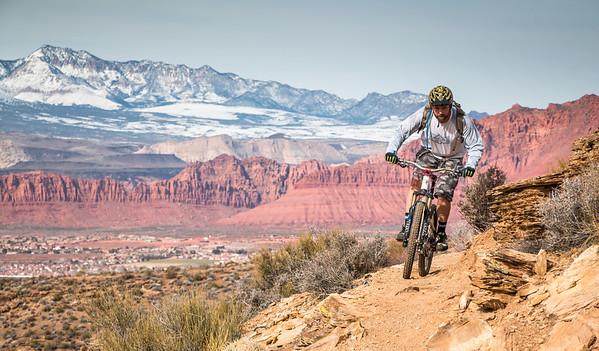 St. George Mountain Biking Trip (Jan. '16)