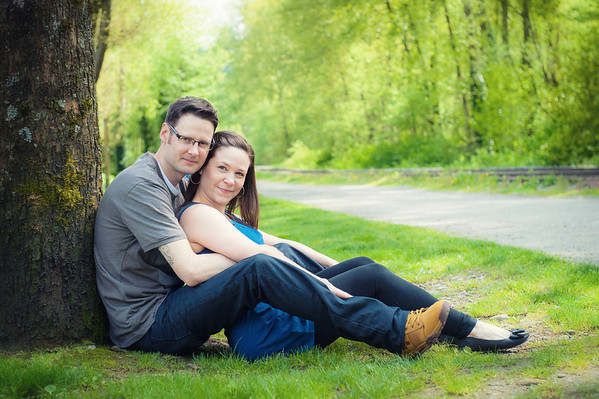 Jennifer & Brendan Port Moody Engagement