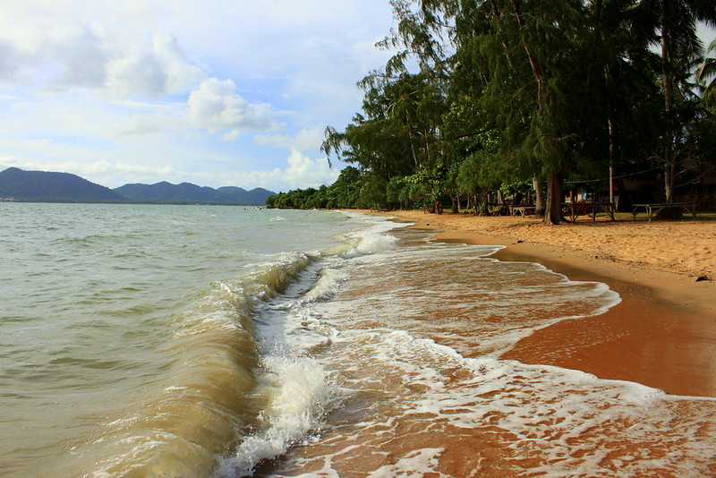 Nice beach at Rabbit Island