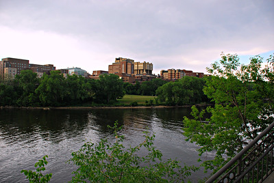 2016 05 24: UMNTC, Photos of East Bank from West Bank & State Fair Grounds