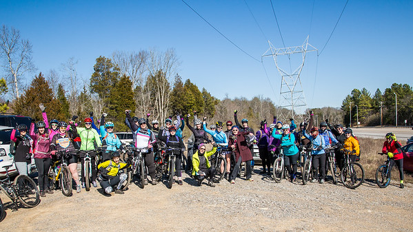 Trek Women's Advocate ride_at North Boundary 20170128