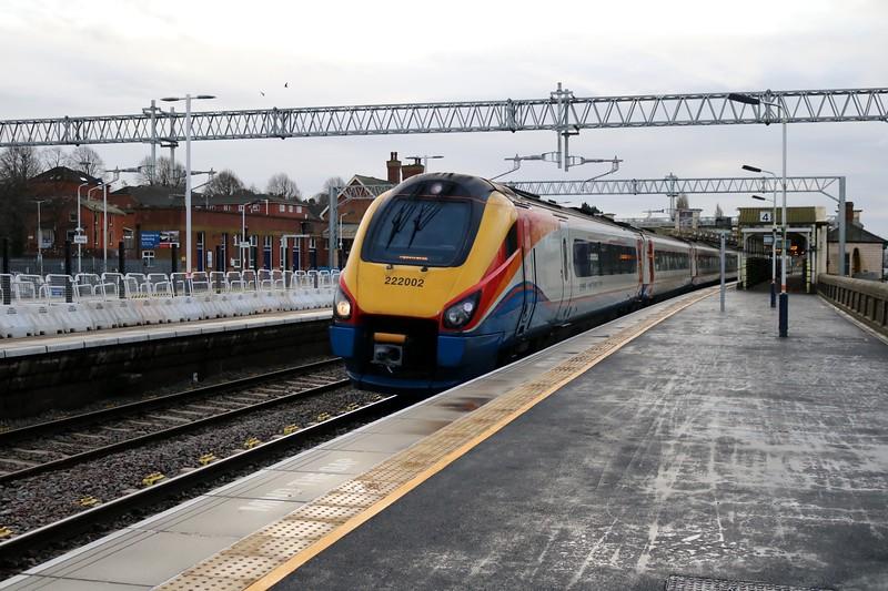 222002 0920/1D13 St Pancras-Nottingham