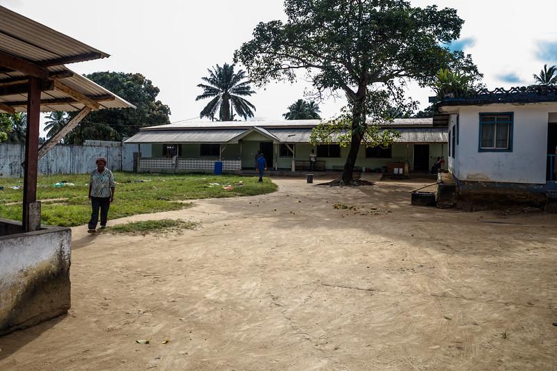 Monrovia, Liberia October 13, 2017 - The E.S. Grant Mental Health Hospital.