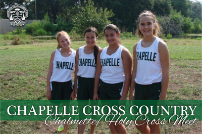 Chapelle Cross Country - Chalmette/Holy Cross Meet 2013