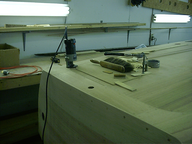 Port rear corner router jig.