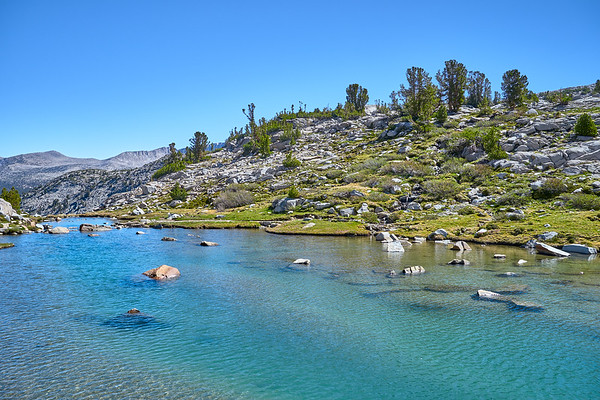 John Muir Trail: Yosemite National Park to Reds Meadow