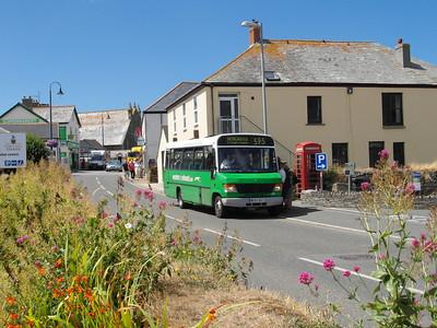 24.8.13 - North Cornwall & Devon towns and villages