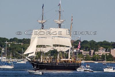 Charles W. Morgan First Sail