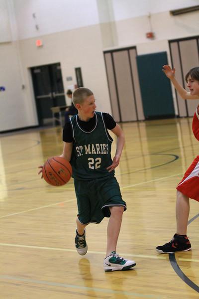 8th grade boys vs kooteani