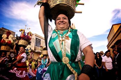 Chinas Oaxaqueñas Dancers - La Guelaguetza - Oaxaca, Mexico