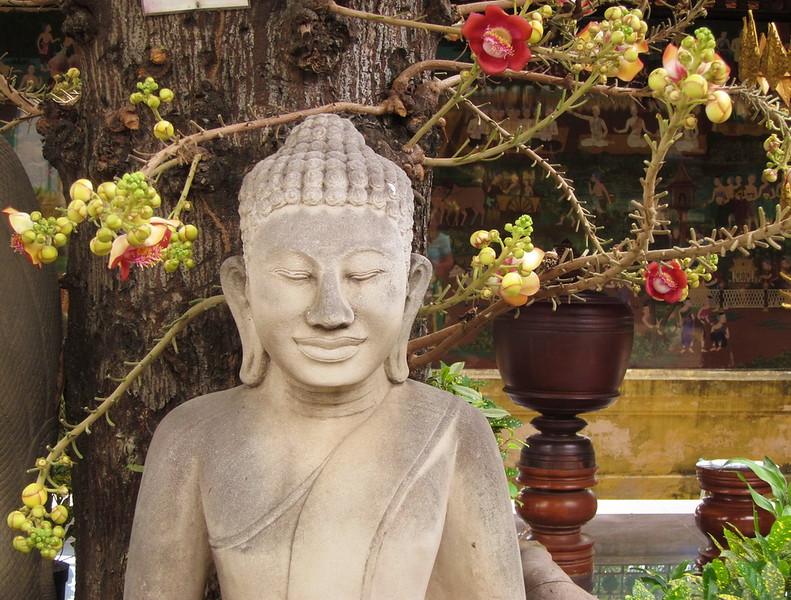Buddha at Wat Phnom