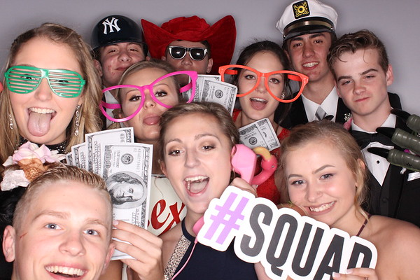 South Glens Falls Prom - Booth 2