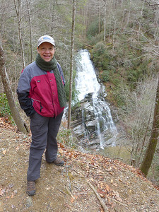 Laurel Fork Falls via Foothills Trail