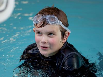 Nate Swimming