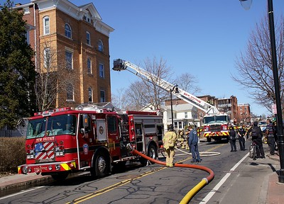 Structure Fire - 160 Washington St., New Britain, CT. - 3/12/21