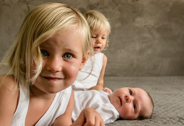 Olive, Emma & Lily