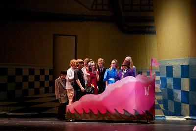 """2010, December 1, Pinewood Musical, """"Wonka"""""""