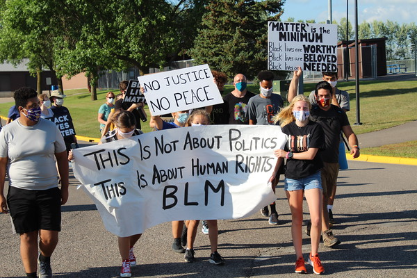 Delano Black Lives Matter march and protest