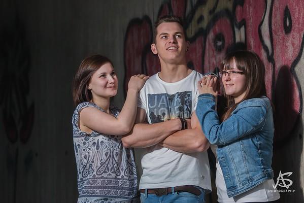 Birgit, Sabi & Luki