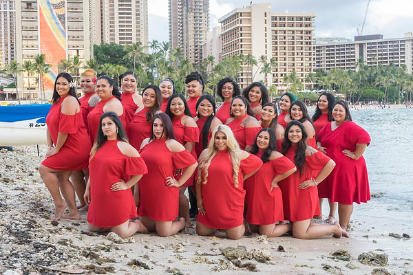 Miss Hawaii Plus Contestants