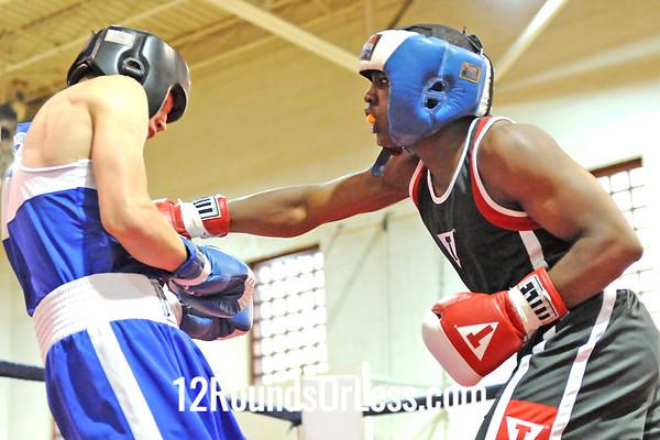 Bout #8 Charles Conwell, UBA vs Travis Jerig, 152 lbs.