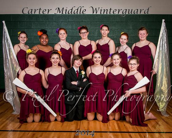2014 Carter Winterguard