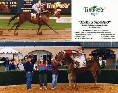 MARY'S SHAMOO - 10/04/1998